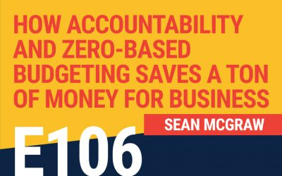 E106: How Accountability and Zero-Based Budgeting Saves a Ton of Money for Business
