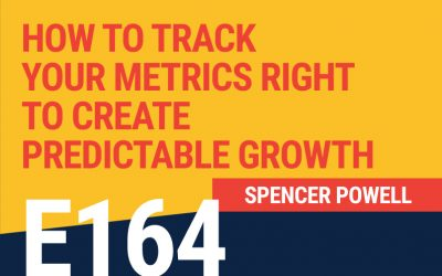 E164: How To Track Your Metrics Right to Create Predictable Growth