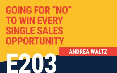 """E203: Going for """"No"""" to Win Every Single Sales Opportunity"""
